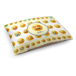 Emojis Dog Pillow Bed (Personalized)