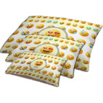 Emojis Dog Bed w/ Name or Text