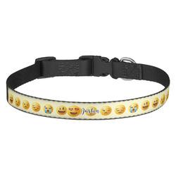 Emojis Dog Collar - Medium (Personalized)