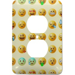 Emojis Electric Outlet Plate (Personalized)