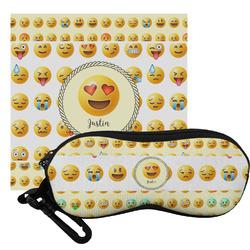 Emojis Eyeglass Case & Cloth (Personalized)
