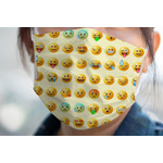 Emojis Face Mask Cover (Personalized)
