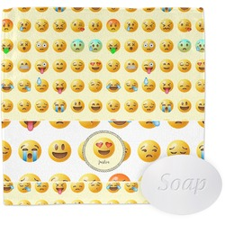 Emojis Wash Cloth (Personalized)