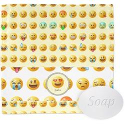 Emojis Wash Cloth (Personalized)