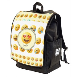 Emojis Backpack w/ Front Flap  (Personalized)