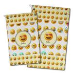 Emojis Golf Towel - Full Print w/ Name or Text