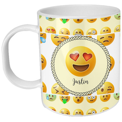 Emojis Plastic Kids Mug (Personalized)