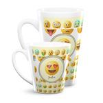 Emojis Latte Mug (Personalized)