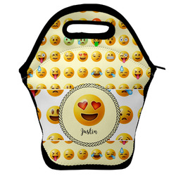 Emojis Lunch Bag w/ Name or Text