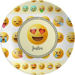 Emojis Melamine Plate (Personalized)