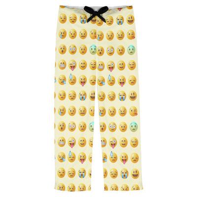 Emojis Mens Pajama Pants (Personalized)