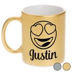 Emojis Metallic Mug (Personalized)