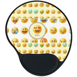 Emojis Mouse Pad with Wrist Support