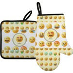 Emojis Oven Mitt & Pot Holder (Personalized)
