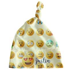Emojis Newborn Hat - Knotted (Personalized)