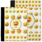 Emojis Notebook Padfolio w/ Name or Text