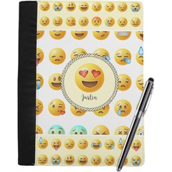 Emojis Notebook Padfolio (Personalized)