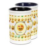 Emojis Ceramic Pencil Holder - Large
