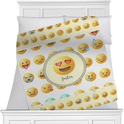 Emojis Minky Blanket (Personalized)