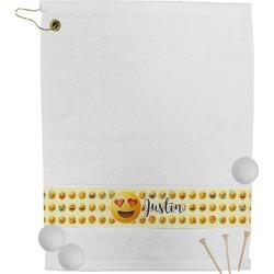 Emojis Golf Towel (Personalized)