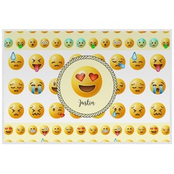 Emojis Laminated Placemat w/ Name or Text
