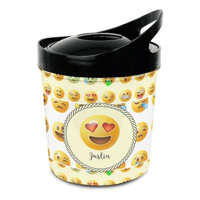 Emojis Plastic Ice Bucket (Personalized)
