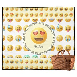 Emojis Outdoor Picnic Blanket (Personalized)