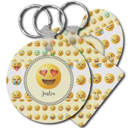 Emojis Plastic Keychains (Personalized)