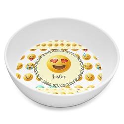 Emojis Melamine Bowl 8oz (Personalized)