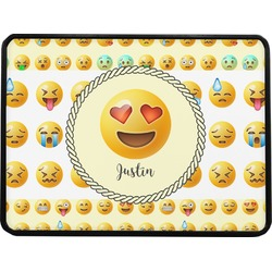 """Emojis Rectangular Trailer Hitch Cover - 1.25"""" (Personalized)"""