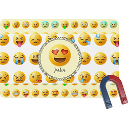 Emojis Rectangular Fridge Magnet (Personalized)