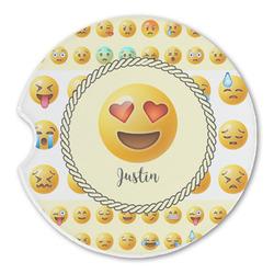 Emojis Sandstone Car Coasters (Personalized)
