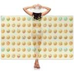 Emojis Sheer Sarong (Personalized)