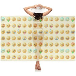 Emojis Sheer Sarong (Personalized)