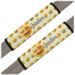 Emojis Seat Belt Covers (Set of 2) (Personalized)