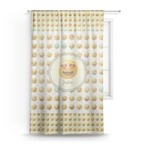 Emojis Sheer Curtains (Personalized)