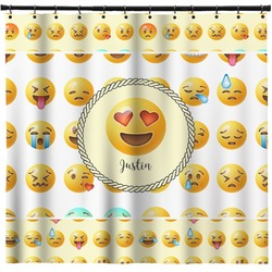 Emojis Shower Curtain (Personalized)