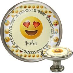 Emojis Cabinet Knob (Silver) (Personalized)