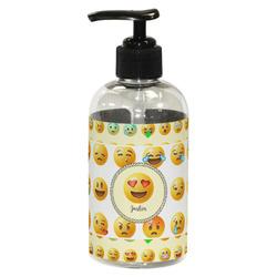 Emojis Plastic Soap / Lotion Dispenser (8 oz - Small) (Personalized)