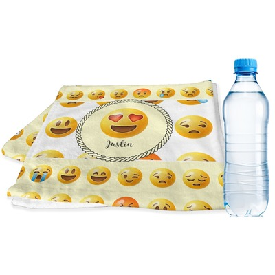 Emojis Sports & Fitness Towel (Personalized)
