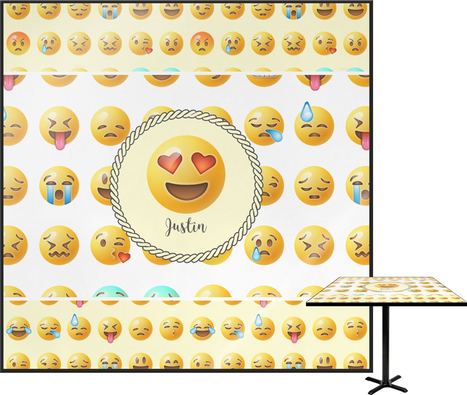 how to see emojis that are squares