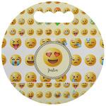 Emojis Stadium Cushion (Round) (Personalized)