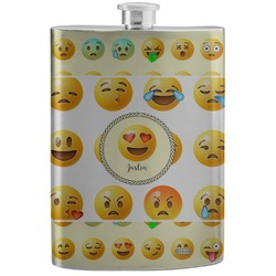 Emojis Stainless Steel Flask (Personalized)