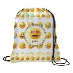 Emojis Drawstring Backpack (Personalized)