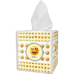 Emojis Tissue Box Cover (Personalized)