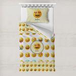 Emojis Toddler Bedding w/ Name or Text