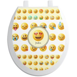Emojis Toilet Seat Decal (Personalized)