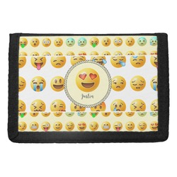 Emojis Trifold Wallet (Personalized)