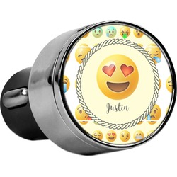 Emojis USB Car Charger (Personalized)