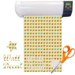 Emojis Vinyl Sheet (Re-position-able)